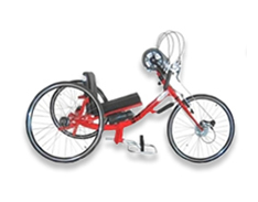hand-bike for disabled people