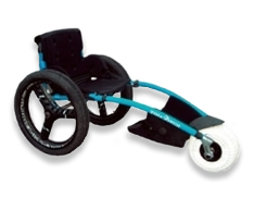 Hipposampe chair for disabled people