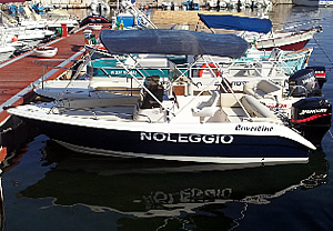 Coverline boat rental in Ostuni