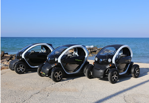 Electric cars for rent in Ostuni, Puglia