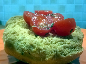Friselle with tomatoes