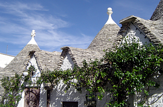 Alberobello town of trulli