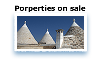 Trulli villas and apartments on sale