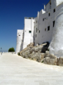 The surrounding wall of Ostuni